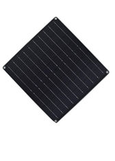 Portable Solar Panel Power Supply With DC Connector /  Optional Connectors