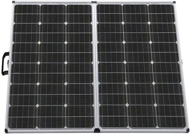 High Efficiency Solid Solar Panel Lightweight Easy To Carry Eco Friendly